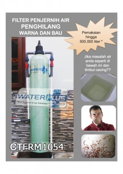 FILTER AIR WATERPLUSPURE PENGHILANG BAU DAN WARNA | CTFRM1054